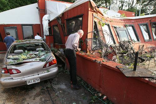 Atlanta's Fox Brothers BBQ Reopens After Storm Damage