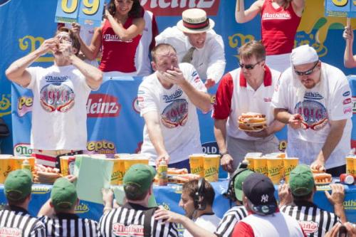 Competitive Eating, As American As It Gets