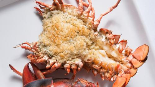 Crab-Stuffed Roasted Lobster Recipe For The Holidays