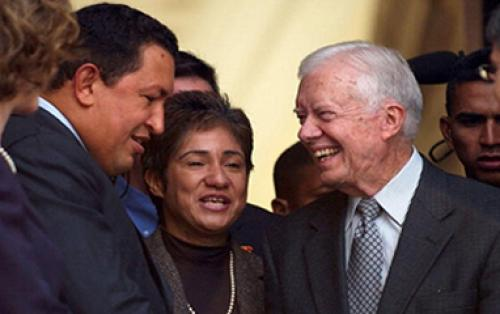 Former President Jimmy Carter Remembers Hugo Ch?vez