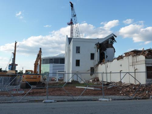 Friendship Baptist Church Comes Down