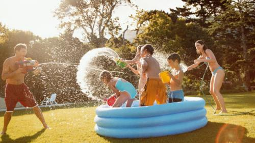 5 Fun Ways To Turn Your Backyard Into A Water Park For Kids
