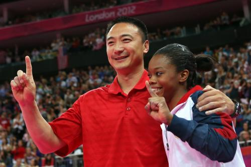 Gabby Gets All-Around Gold Medal