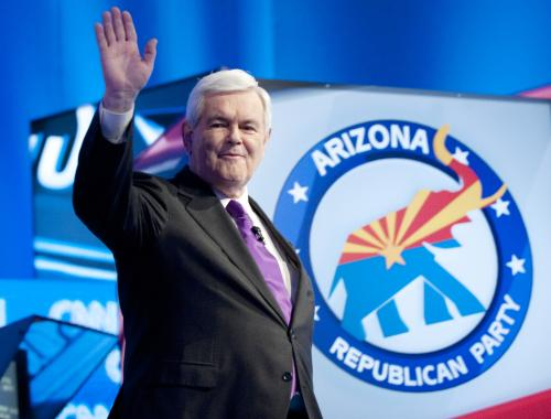 Gingrich Ends Campaign, Vows To Help Defeat Obama