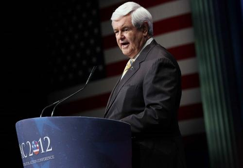 Gingrich Plans To Stay In Race