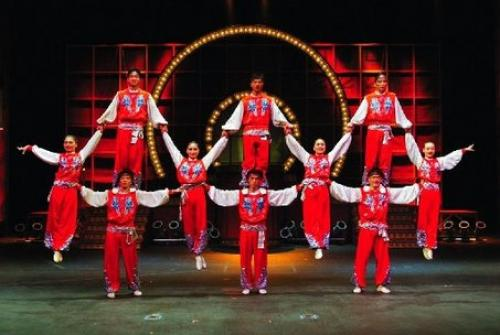Golden Dragon Chinese Acrobats