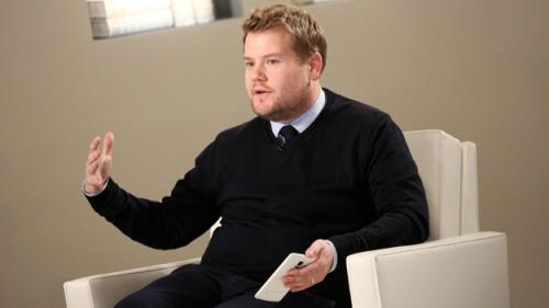 James Corden To Make First Visit To 'Late Show with David Letterman'