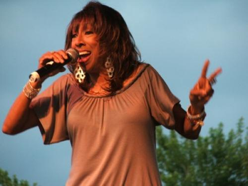 Jazz Singer Jean Carne at Wolf Creek Park Amphitheatre Grand Opening
