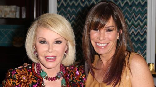 Joan Rivers' Daughter Melissa: 'Mother Has Been Moved Out Of Intensive Care'