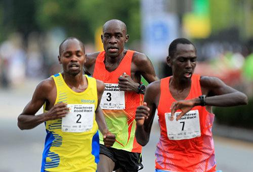 Kenyan Wins 43rd Peachtree Road Race