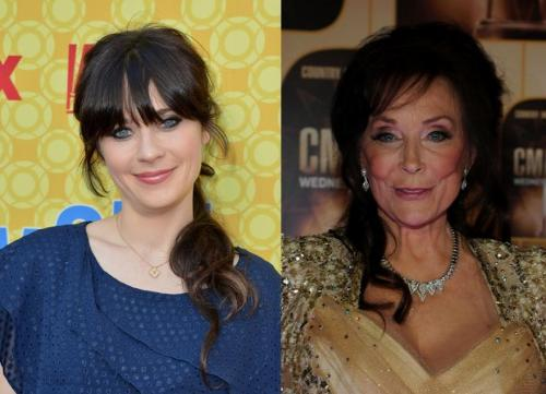 Loretta Lynn Wants Zooey Deschanel In Musical