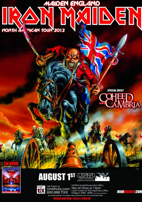 Maiden England Tour