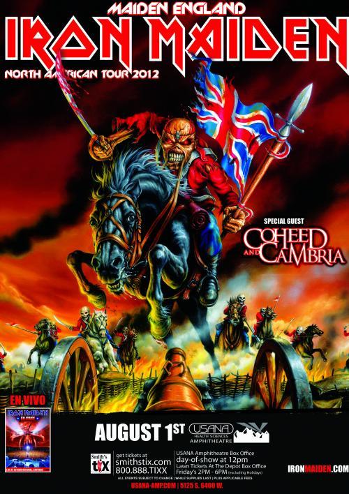 Maiden England Tour