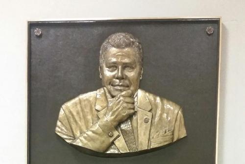 Mayor Maynard Jackson Bronze Plaque Unveiled At Atlanta Airport
