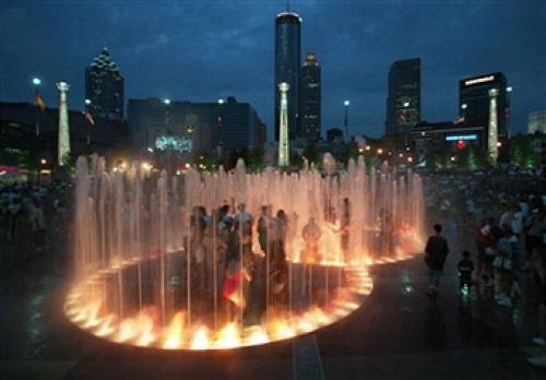 New Plans For Atlanta's Centennial Olympic Park