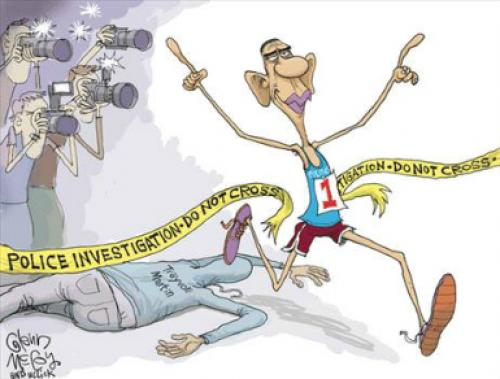 Obama And Trayvon Martin Cartoon Provokes Ire!