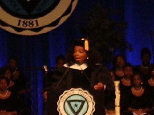 Oprah Winfrey Gives 2012 Spelman College Commencement Speech