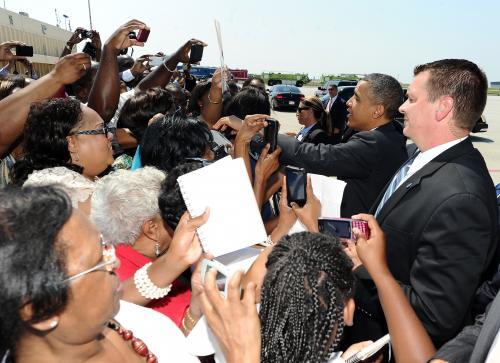 President Obama's Visit To Atlanta