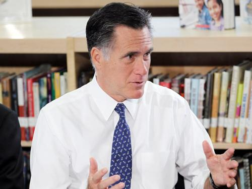 Romney To Make Pitch To Black Voters At NAACP