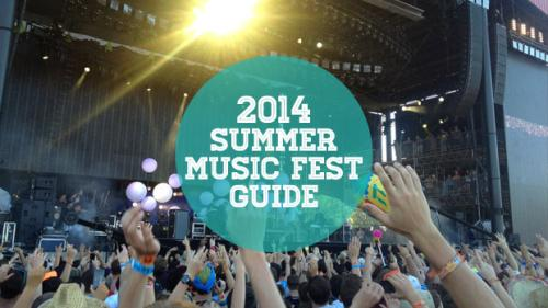 2014 Summer Music Festival Guide