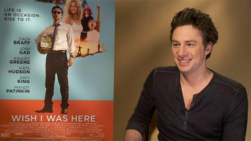 Zach Braff Returns To Filmmaking in 'Wish I Was Here'